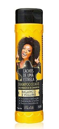 MURIEL Cachos de uma Estrela Balanço e Volume Shampoo Suave 250ml