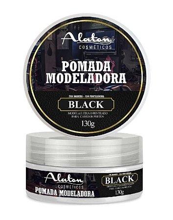 ALATON Pomada Modeladora Profissional Black 130g