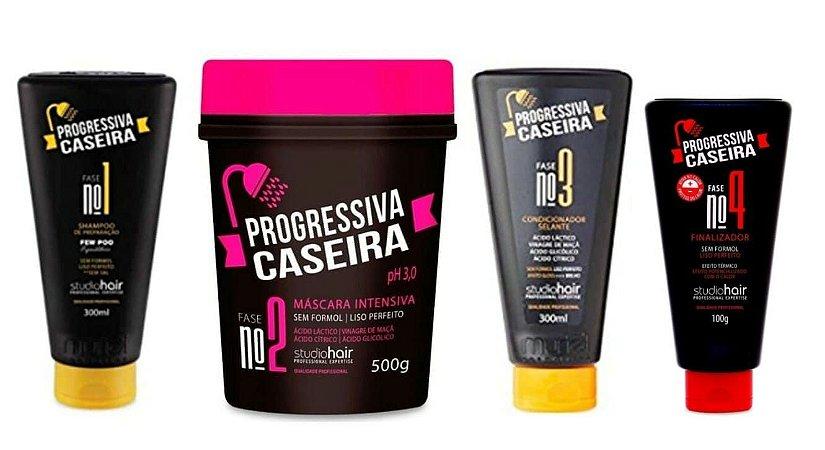 MURIEL Studio Hair Progressiva Caseira sem Formol