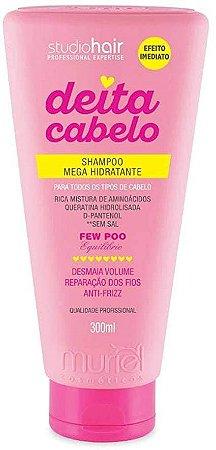 MURIEL Studio Hair Deita Cabelo Shampoo Mega Hidratante 300ml