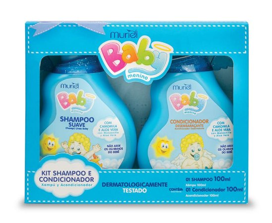 MURIEL Baby Menino Kit Shampoo + Condicionador 100ml