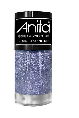 ANITA Esmalte Quanto Mais Brilho Melhor Glitter Aplica Que É Brilho 10ml