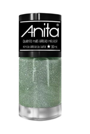 ANITA Esmalte Quanto Mais Brilho Melhor Glitter Ou Brilha ou Surta 10ml
