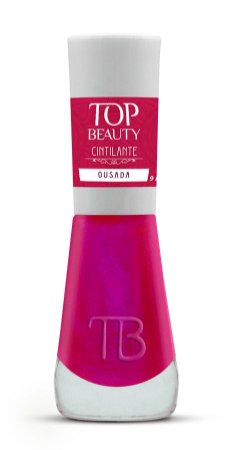 TOP BEAUTY Premium Esmalte Vegano Cintilante Ousada 9ml
