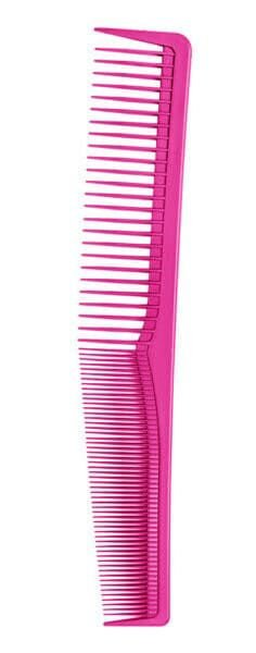 SANTA CLARA Pente Profissional Comare Color Wind 180° (suporta 180°C) Pink (4947)