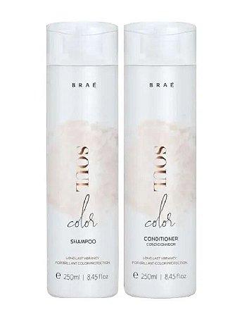 BRAÉ Soul Color Kit Shampoo + Condicionador 250ml