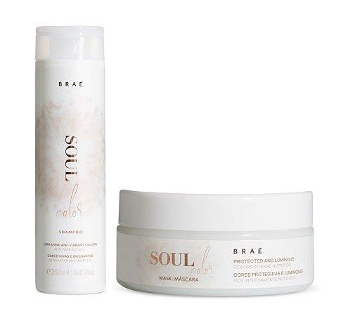 BRAÉ Soul Color Kit Shampoo 250ml + Máscara Capilar 200g