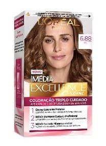 IMÉDIA Excellence Coloração Permanente 6.88 Mel