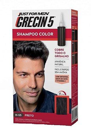 GRECIN5 Shampoo Color Preto H-55