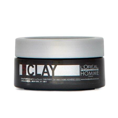 L'Oréal Professionnel Homme Cera modeladora Clay - 50ml
