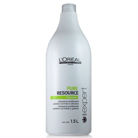 L'Oréal Professionnel Expert Pure Resource Citramine Shampoo para Cabelos Normais a Oleosos 1,5L