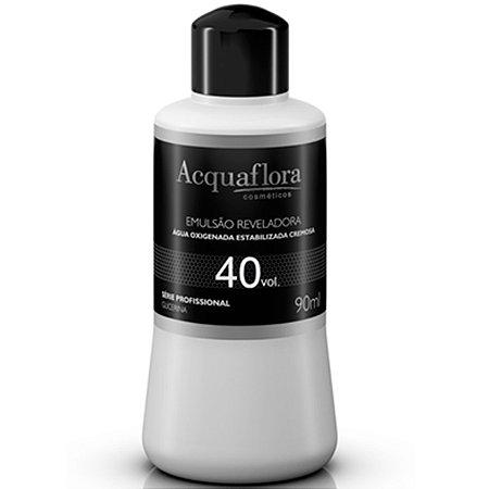 Acquaflora Emulsão Reveladora Água Oxigenada 40vol 90ml