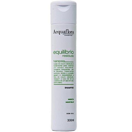 Acquaflora Equilíbrio Resíduos Shampoo - 300ml