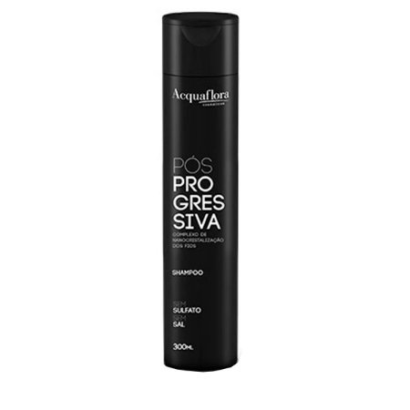 Acquaflora Pós-Progressiva Shampoo Sem Sal 300ml