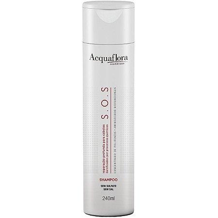 Acquaflora SOS Shampoo Reparação Profunda - 240ml
