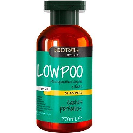Bio Extratus Cachos Perfeitos Low Poo Shampoo para Cabelos Cacheados 270ml