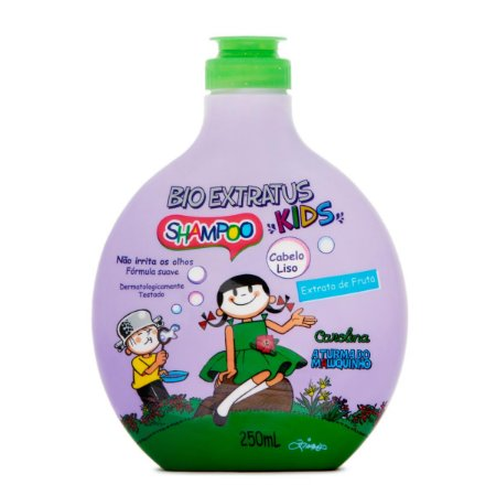 BIO EXTRATUS Turma do Menino Maluquinho Shampoo para Cabelos Lisos - 250ml