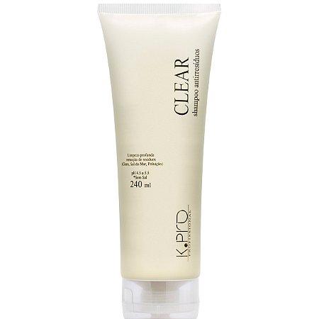 K.PRO Clear Shampoo Antirresíduos 240ml