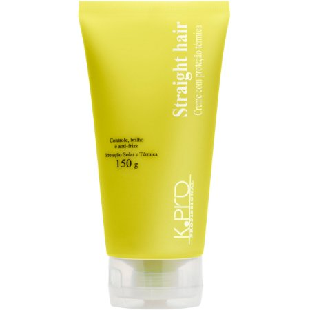 K.Pro Straight Hair Protetor Térmico Defrizante - 150g