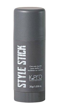 K.PRO Style Stick Cera para Modelar os Cabelos em Bastão 30g