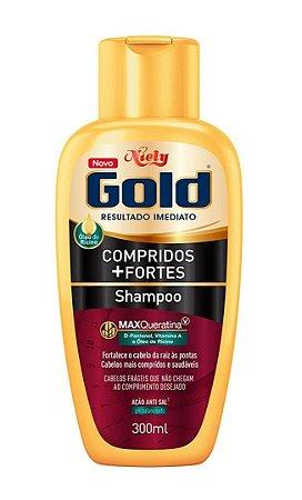 NIELY Gold Compridos + Fortes Shampoo MaxQueratina 300ml