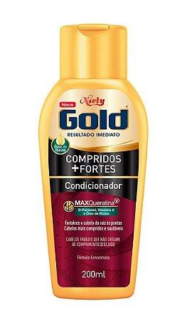 NIELY Gold Compridos + Fortes Condicionador MaxQueratina 200ml