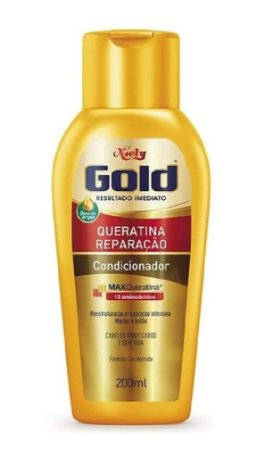 NIELY Gold Queratina Reparação Condicionador MaxQueratina 200ml