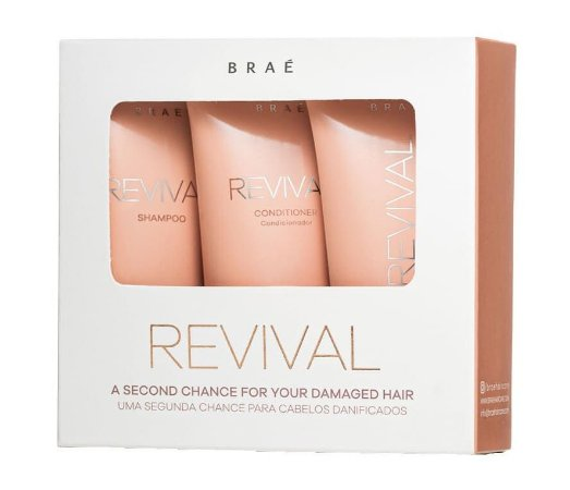 BRAÉ Revival Kit para Reconstrução Capilar Travel Size