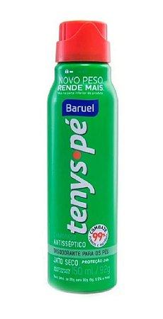 BARUEL Tenys Pé Desodorante para os Pés Canforado Jato Seco 150ml