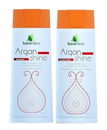 BARROMINAS Argan Shine Kit Cabelo Danificado Shampoo + Condicionador
