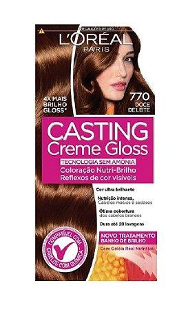 CASTING Creme Gloss Tonalizante 770 Doce de Leite