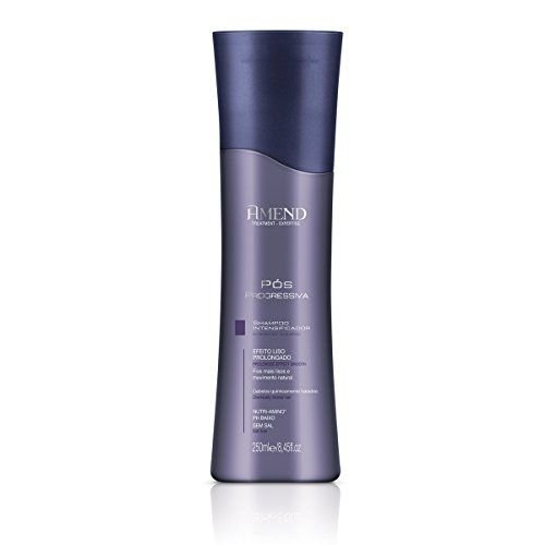 AMEND Pós Progressiva Shampoo Intensificador 250ml
