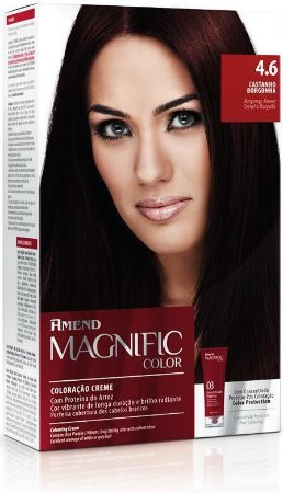 AMEND Magnific Color Coloração 4.6 Castanho Borgonha