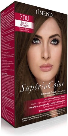 Amend Supéria Color Tonalizante 700 Louro Natural