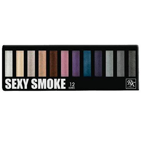 Kiss New York Paleta Sexy Smoke 12 Cores de Sombras 02 (EPKSET0302BR)