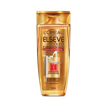 Elseve Shampoo Óleo Extraordinário Nutrição 200ml
