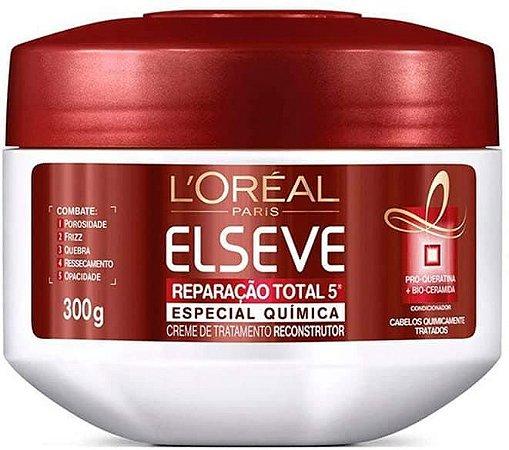 ELSEVE Reparação Total 5 Especial Química Creme de Tratamento Reparador 300g