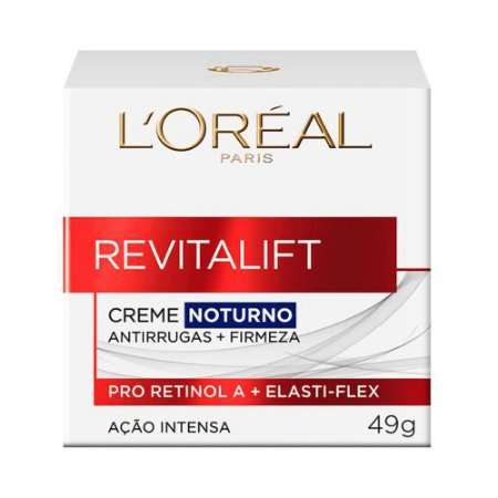 L'Oréal Paris Revitalift Creme Noturno  Antirrugas + Firmeza 49g