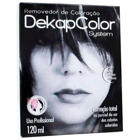 Yamá Dekap Color System Removedor de Coloração - 120ml