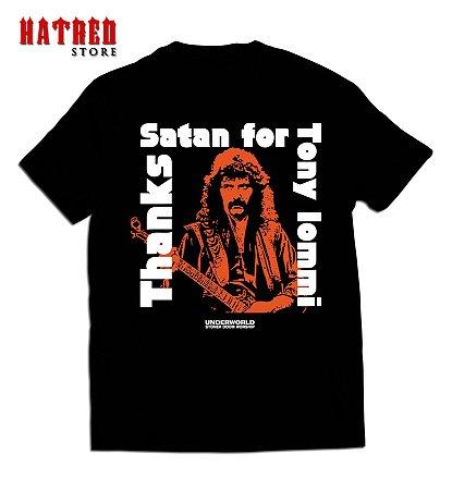 CAMISETA. V666 - Thanks Satan for Tony Iommi