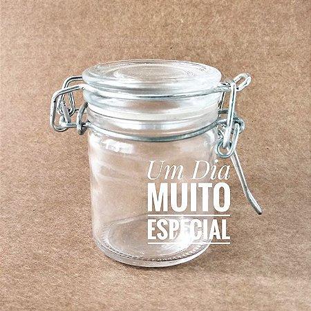 Mini Pote Hermético de Vidro 35mL
