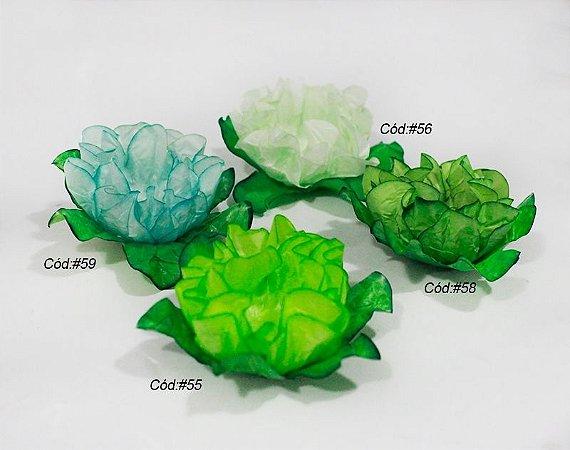Rosa Menina Tons Verde