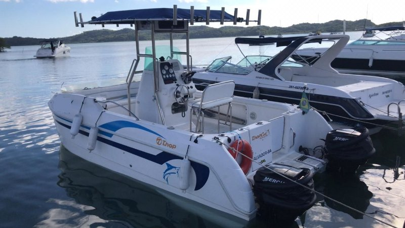 Top Cat 18 Com Parelha Mercury 60hp