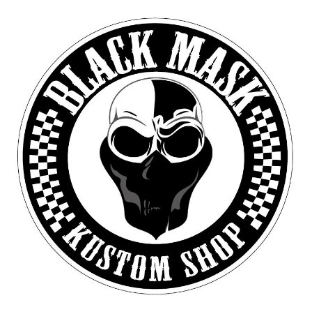 Adesivo BLACK MASK KUSTOM