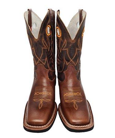 Bota Texas Rodeo - Malboro Telha/Fóssil Havana