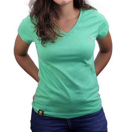 Camiseta Feminina Sacudido's Basica - Clorofila