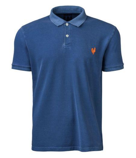 Camisa Pólo Made in Mato Stone Azul