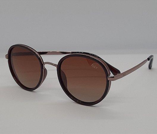 Óculos de Sol Flex Redondo