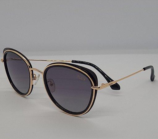 Óculos de Sol Flex Feminino Redondo
