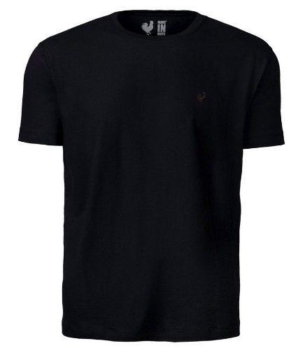 Camiseta Made in Mato Básica Preto
